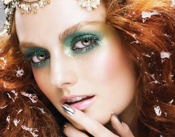 12 кроків до скоєного макіяжу на Новий 2014 Коні
