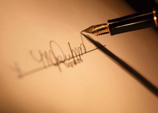 7 порад, як придумати красиву підпис на паспорт і документи