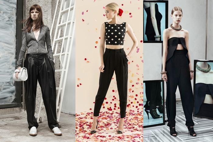 9 моделей наймодніших жіночих брюк на весну-літо 2014 - для стильних жінок