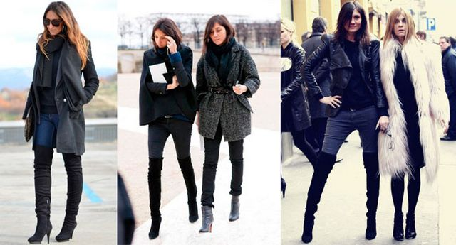 Ботфорти: з чим носити? Як вибрати і поєднувати ботфорти без каблука і на шпильці?