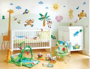 Дитяча кімната - правильне облаштування