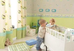 Дитячі шпалери: паперові, вінілові, рідкі, бамбукові шпалери для дитячої - як вибрати?