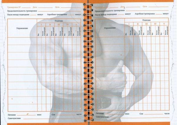 Щоденник тренувань: що це? Як правильно вести щоденник тренувань?