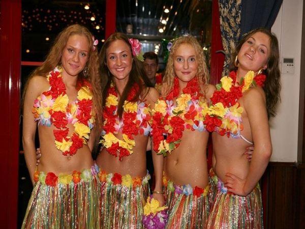 Гавайська вечірка: сценарій. Конкурси, музика для гавайської вечірки