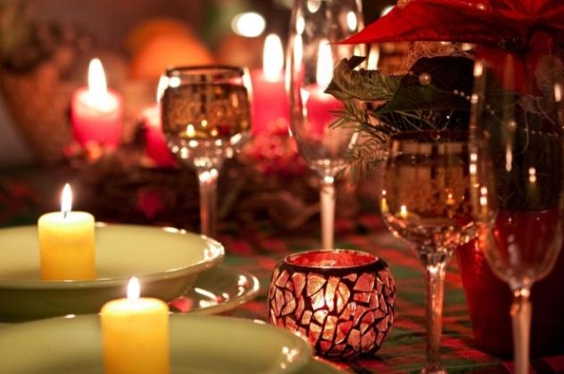 Романтична вечеря в новорічну ніч