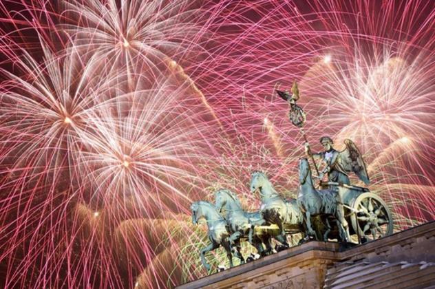 Салют: де оригінально відзначіті новий рік