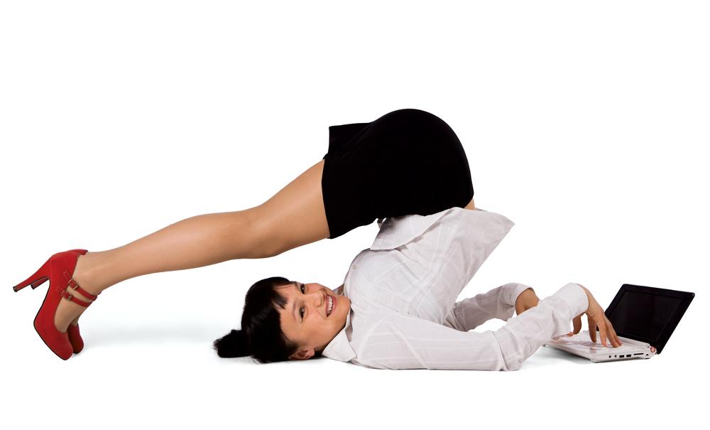 Гімнастика на робочому місці, або кращі вправи при роботі за комп'ютером