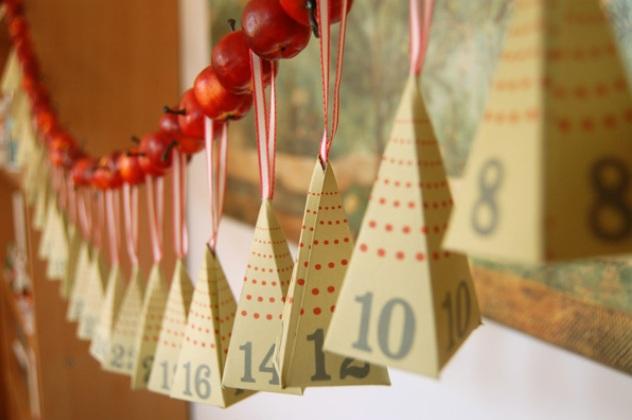 Адвент-календар: підготовка до нового року
