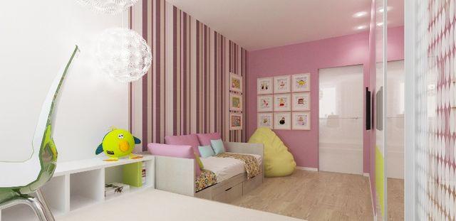 Інтер'єр дитячої для дівчинки. Особливості оформлення та вибір колірного рішення