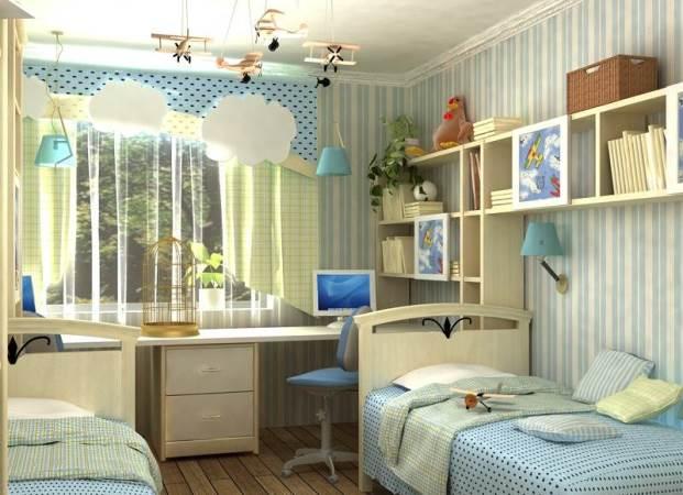 Інтер'єр дитячої кімнати. Цікаві варіанти для хлопчиків і дівчаток