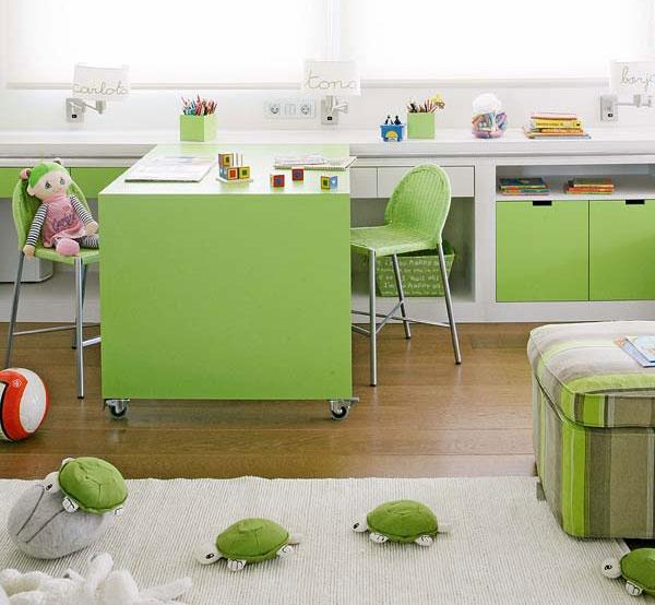 Цікаві ідеї дизайну дитячої кімнати для різностатевих дітей