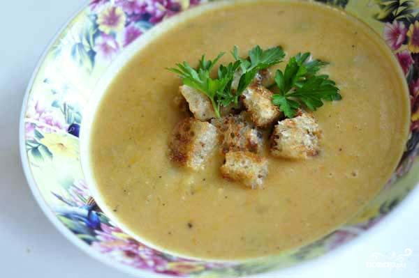 Гороховий суп: рецепт з реберцями