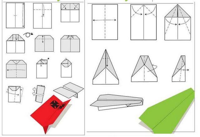 Як зробити літачок з паперу? Поради та прості схеми для новачків