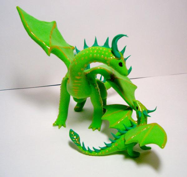 Як зліпити з пластиліну тварин? Опис ліплення з пластиліну дракона, коні, кішки