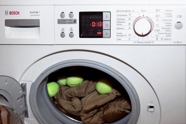 Як прати пуховик?