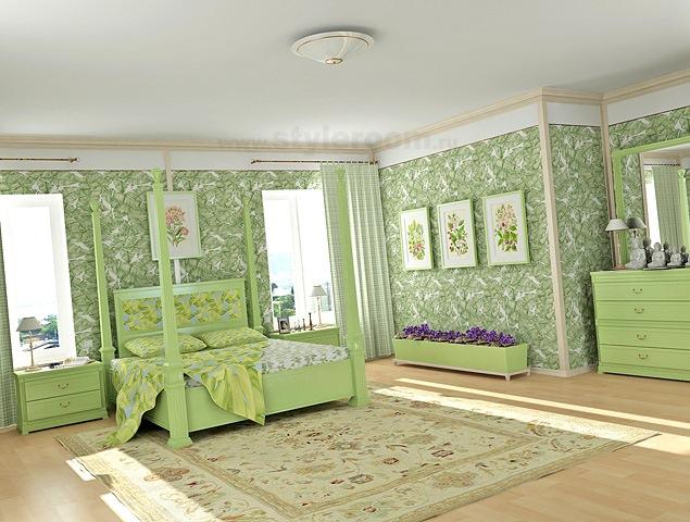 Які шпалери вибрати для спальні? Колір, фактура, прийоми комбінування