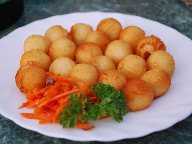 Картопляні кульки: рецепт. Приготування картопляних кульок з начинкою