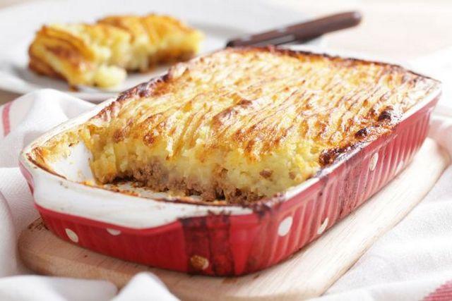 Картопляний пиріг з фаршем: рецепт