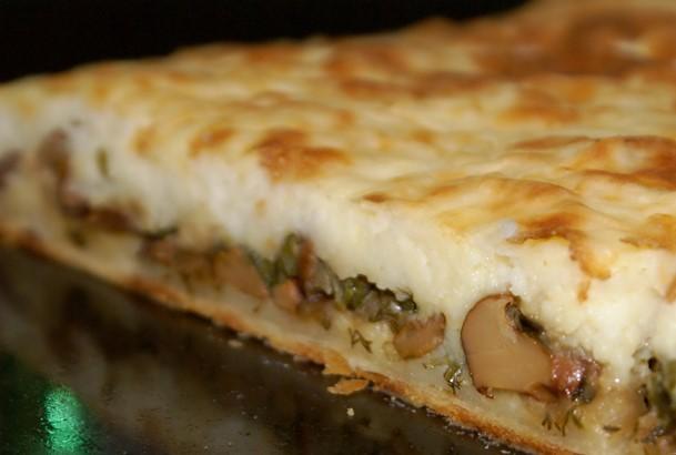 Картопляний пиріг з грибами: рецепт