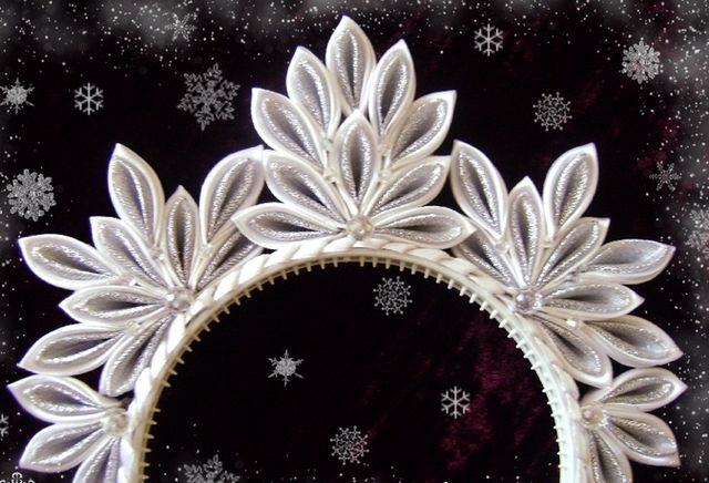 Корона сніжинки своїми руками. Корона принцеси своїми руками: як зробити?