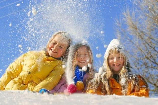 Діти: куди поїхаті на новорічні канікули з дітьми