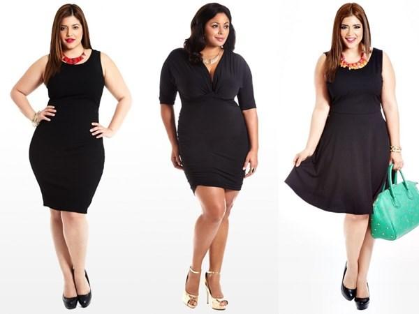 Маленьке чорне плаття для повних жінок - всі секрети вагомого стилю