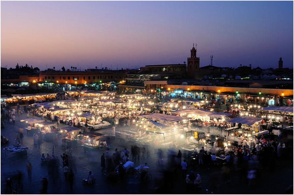 Марокко у квітні - погода