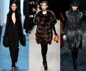 Мода на хутряні жилети 2012