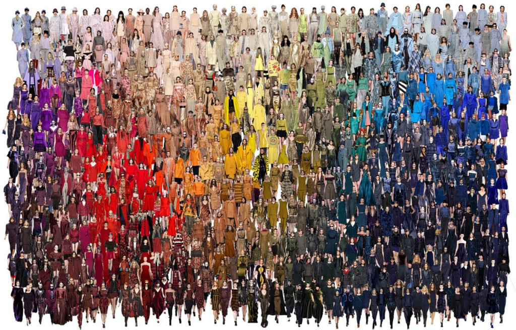 Модні кольори взимку 2013-2014 - які кольори актуальні в одязі, взутті та аксесуарах осені 2013?