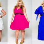 Модні літні сукні для повних дівчат 2013 з фото