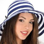 Модні жіночі шапки весна 2013