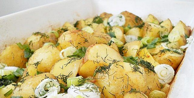 Запечена картопля в мультиварці: рецепт