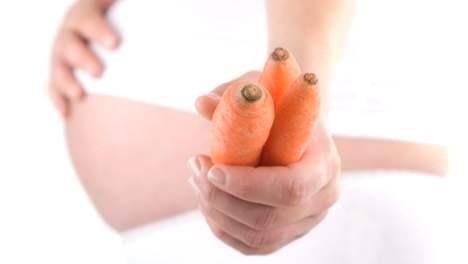 Морква при вагітності