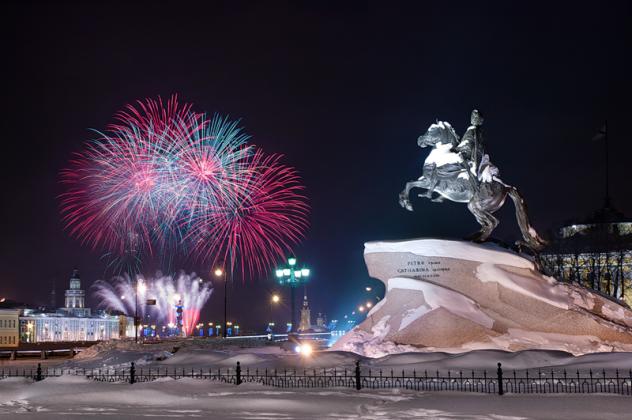 Новорічний Санкт-Петербург