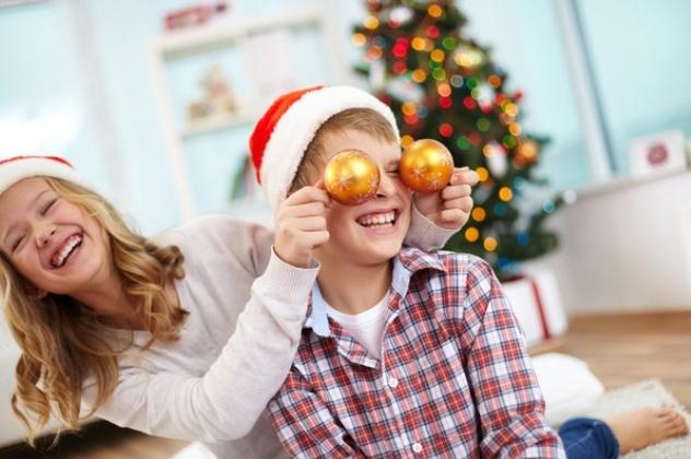 Діти: новорічні ігри