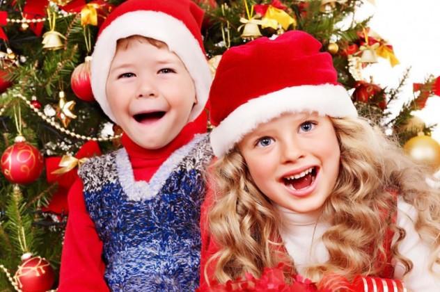 Діти в новий рік