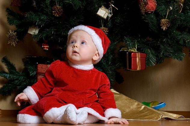 Новий рік з дитиною: поради молодим батькам