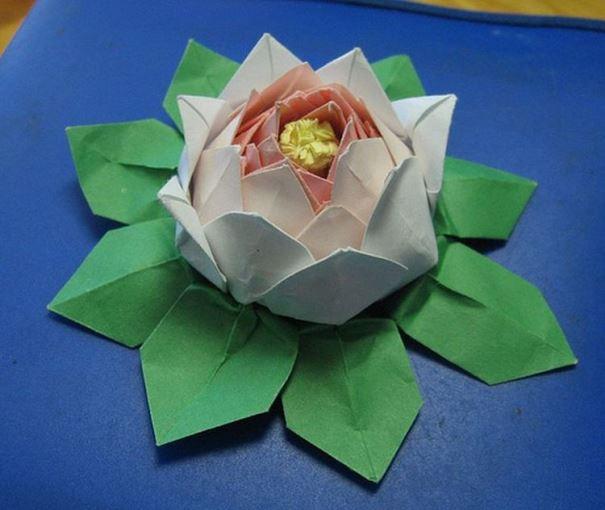 Орігамі лотос: схема виготовлення. Модульне орігамі: як зробити лотос?