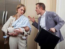 Отношения подружжя после народження малюка