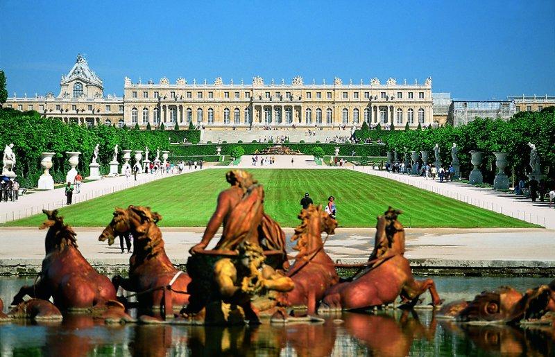 Париж у квітні - Версальський палац