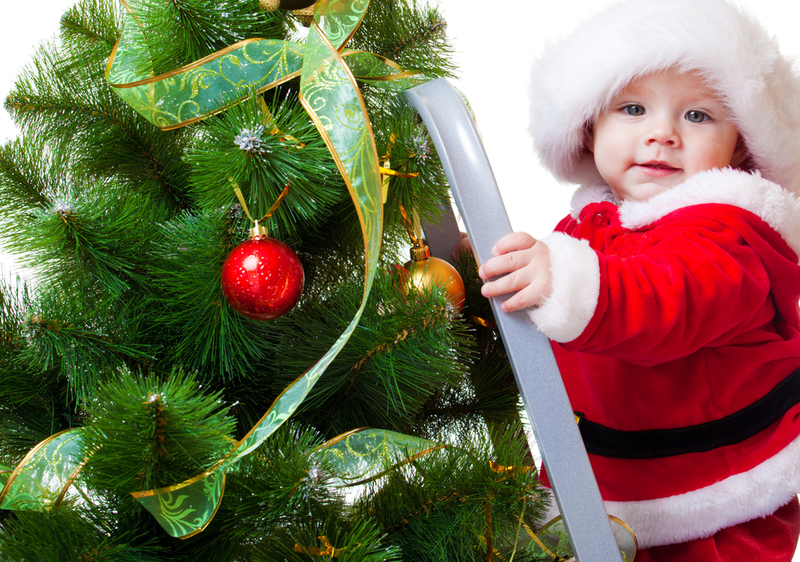 Перший Новий рік малюка - як його відсвяткувати?