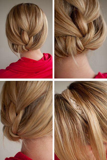 Плетіння кіс на середні волосся