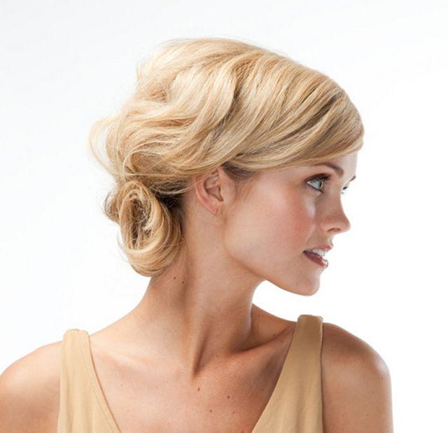 Святкові зачіски на середні волосся. Проста і ефектна укладання волосся середньої довжини