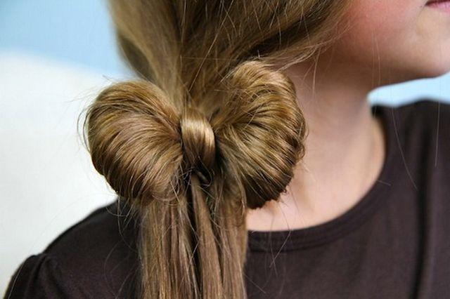 Зачіски для дівчаток на середні волосся. Прості зачіски на кожен день