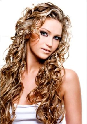 Зачіски з локонами