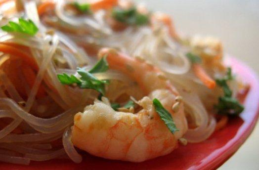 Рисова локшина (фунчоза): калорійність