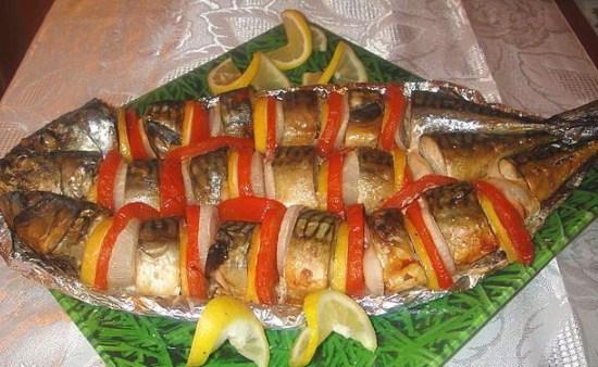 Риба під маринадом в духовці