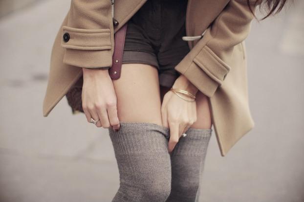З чим носити гетри жінці, як правильно носити гетри - фото