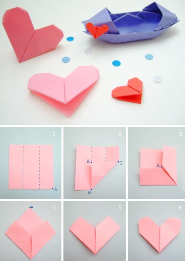 Серце орігамі