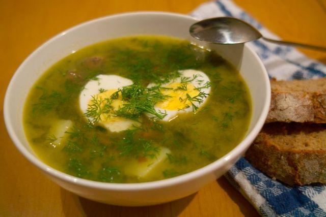 Борщ зелений: рецепт. Як приготувати щавлевий суп?